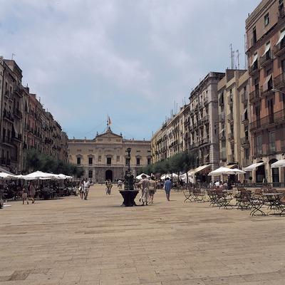 Plaza de la Font de Tarragona.  (Felipe J. Alcoceba)