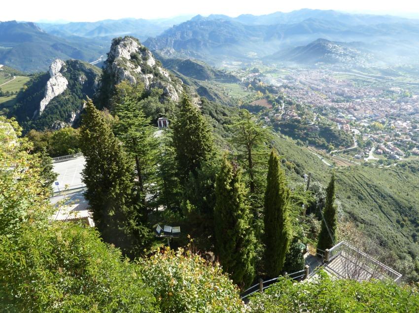 Serra de Queralt_vista des de dalt     (DTF Berga)