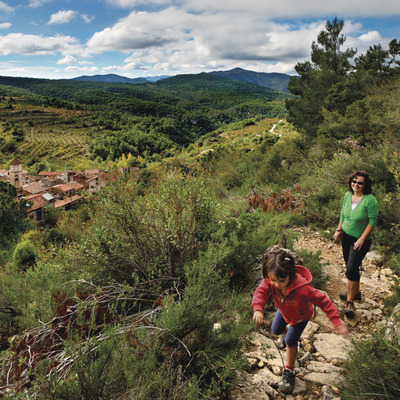 Camino de la Ermita de Sant Pau de Arbolí     (P. Ccal. de Turisme Muntanyes de la Costa Daurada)