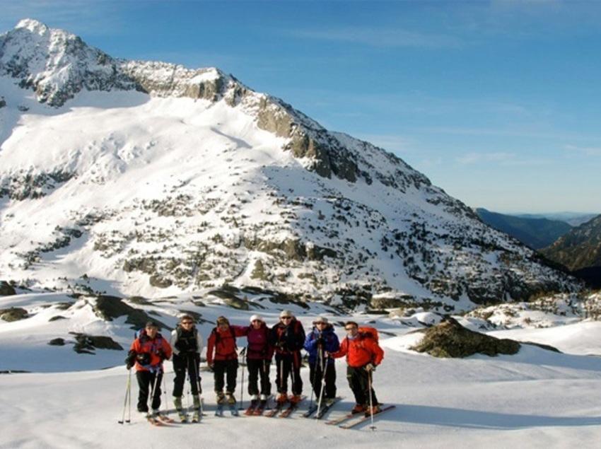Travessia de 3 dies amb esquís pel Parc Nacional d'Aigüestortes i Estany de Sant Maurici