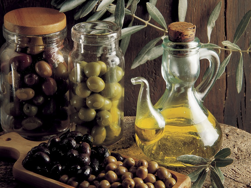 Aceitunas.  (Pere Pons)