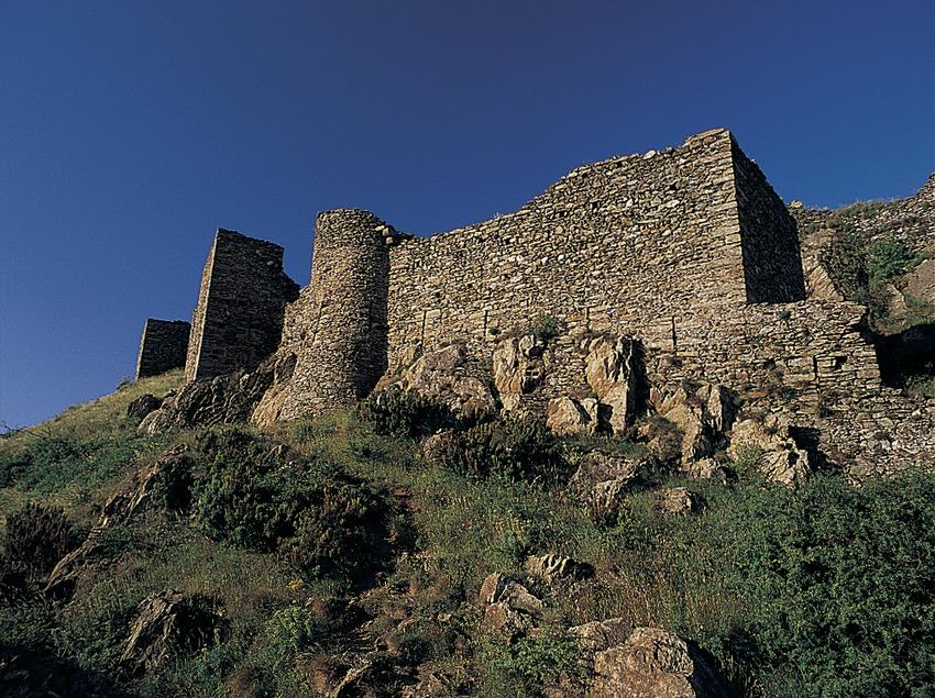 Castillo de Sant Salvador, en el Parc Natural del Cap de Creus  (Oriol Alamany)