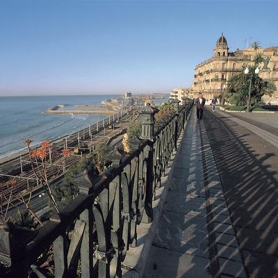 Passeig de les Palmeres i balcó del Mediterrani, Tarragona.  (Rafael López-Monné)