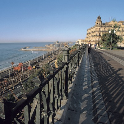 Paseo de las Palmeras y balcón del Mediterráneo, Tarragona.  (Rafael López-Monné)