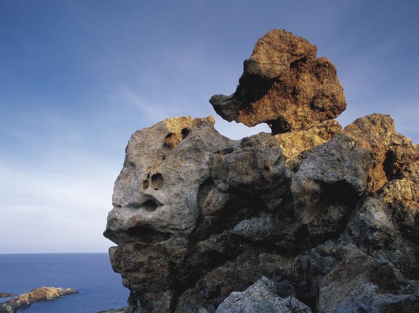 Formaciones rocosas en el Parc Natural del Cap de Creus  (Oriol Alamany)