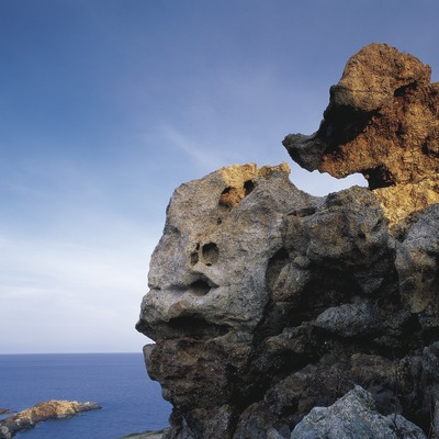 Formacions rocoses al Parc Natural del Cap de Creus  (Oriol Alamany)