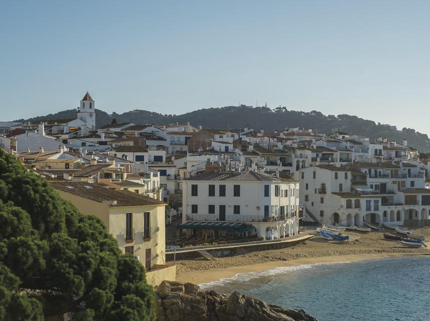 Playa del Port Bo de Calella     (@ Departament de Presidència de la Generalitat de Catalunya)