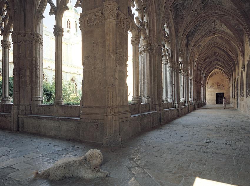 Claustre major del monestir cistercenc de Santes Creus  (Toni Vidal)