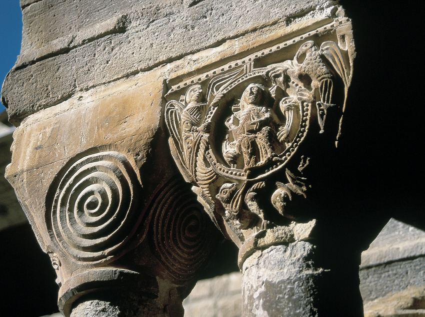 Capitells romànics del claustre del monestir de Santa Maria de l'Estany  (Servicios Editorials Georama)