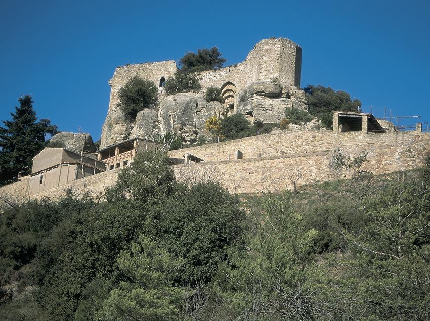 Castillo de Granera.  (Servicios Editorials Georama)