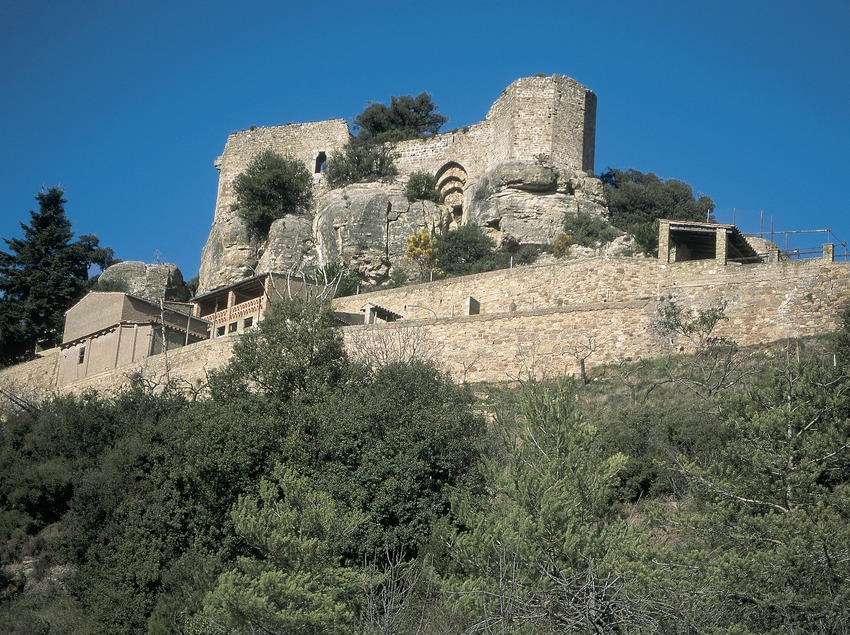 Die Burg von Granera.  (Servicios Editorials Georama)