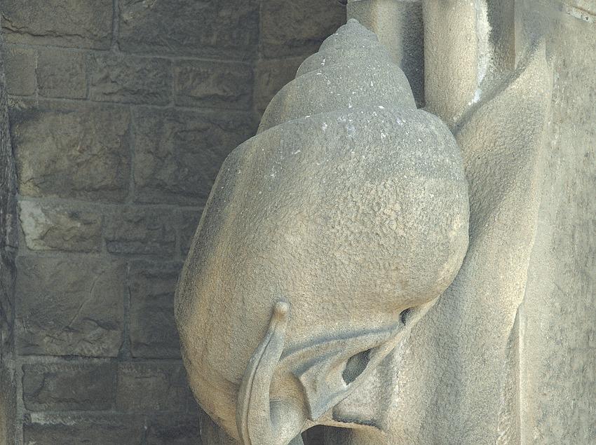 Detalle ornamental del Templo Expiatorio de la Sagrada Familia.  (Toni Vidal)