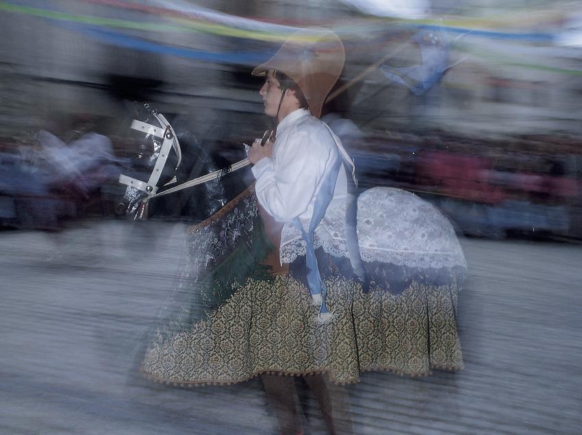 Ball de cavallets durant la Festa Major  (Jordi Pareto)