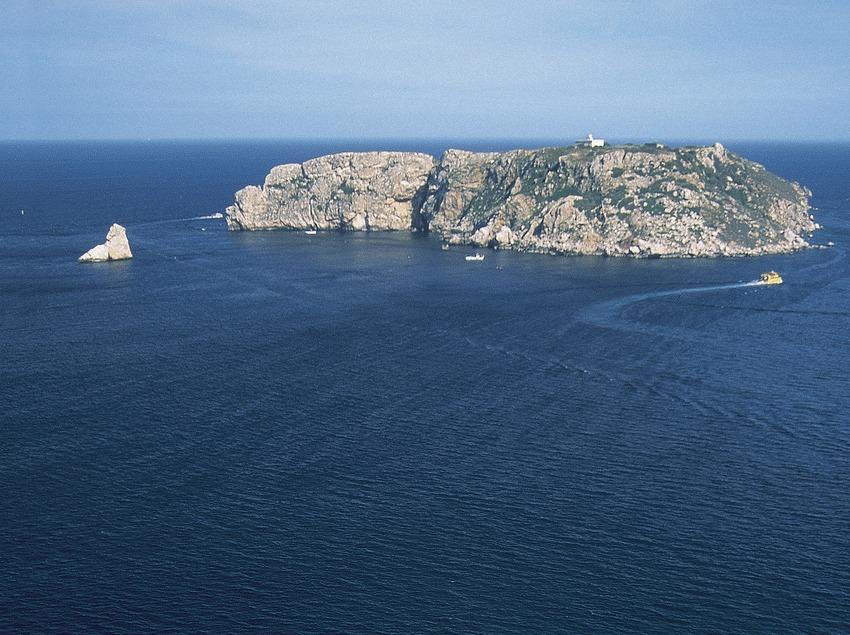 Punta de la Barra, Medas-Inseln.  (Servicios Editorials Georama)
