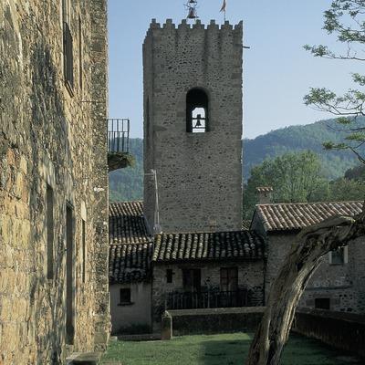 Campanar de l'església de Santa Maria, Santa Pau.