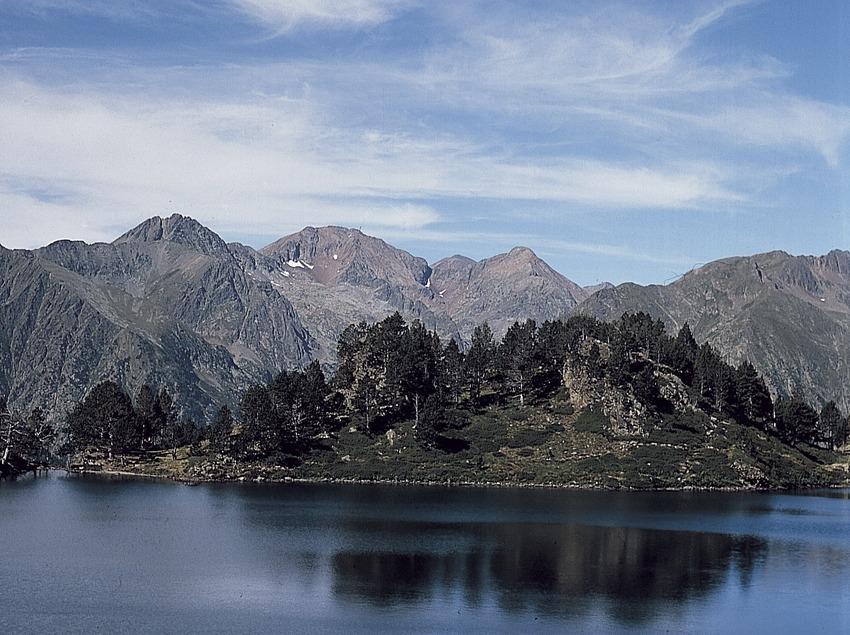 Lago de Naorte, Lladorre.  (Joan Tous)