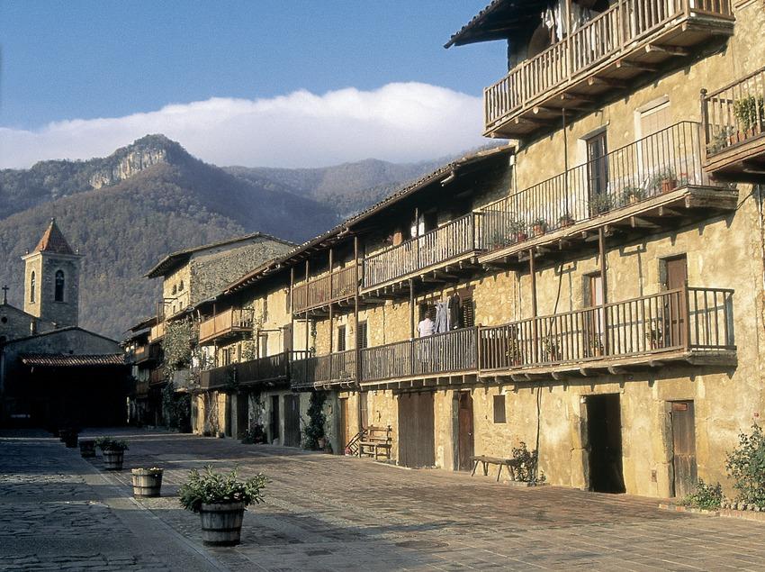 Alter Weg von Vic nach Olot, Hostalets d'en Bas