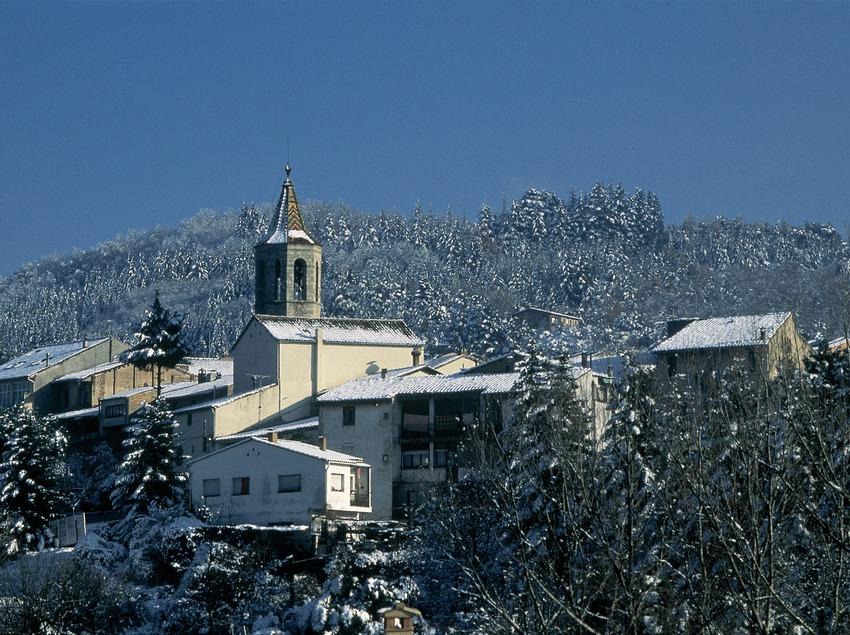 Vista del casco antiguo de Viladrau. (Servicios Editorials Georama)