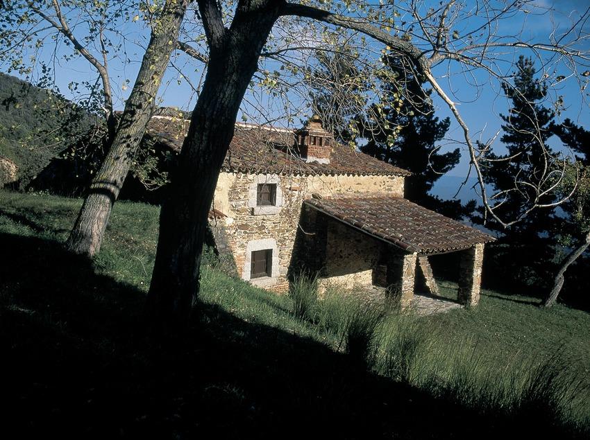 Vivienda tradicional en el Montseny  (Servicios Editorials Georama)