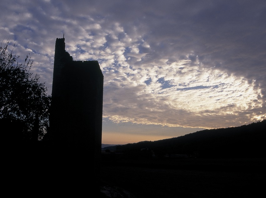 Torre de defensa de la vila fortificada de Peratallada.  (Servicios Editorials Georama)