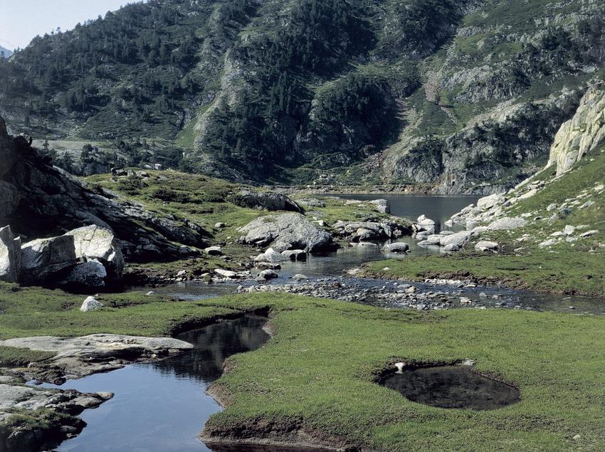 Los lagos de Romedos.  (Joan Tous)