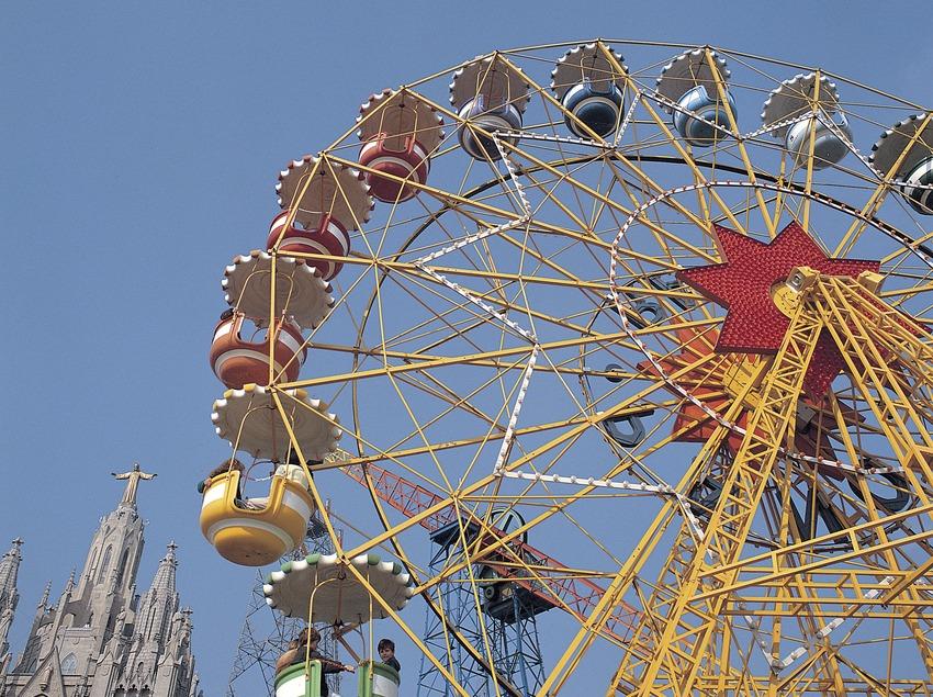 Parc d'atraccions del Tibidabo.