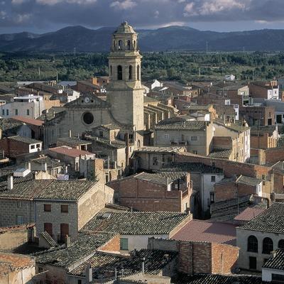 Vista d'Albi i església de Santa Maria.