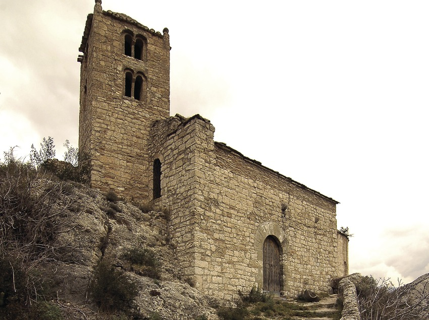 Ermita de la Mare de Déu de Castell-llebre.  (Chopo (Javier García-Diez))