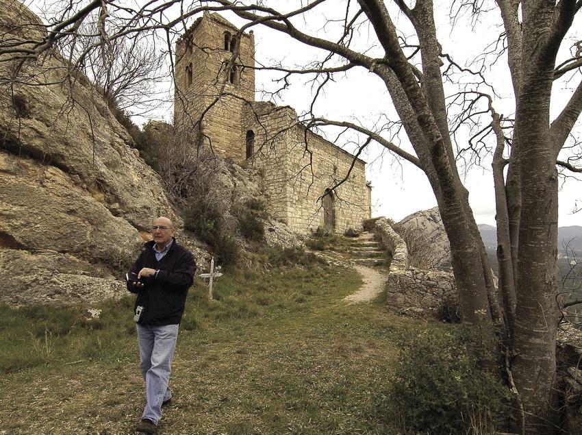 The chapel of Mare de Déu de Castell-llebre