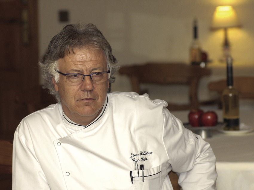 Joan Pallarès, chef and manager of the Can Boix hotel  (Chopo (Javier García-Diez))