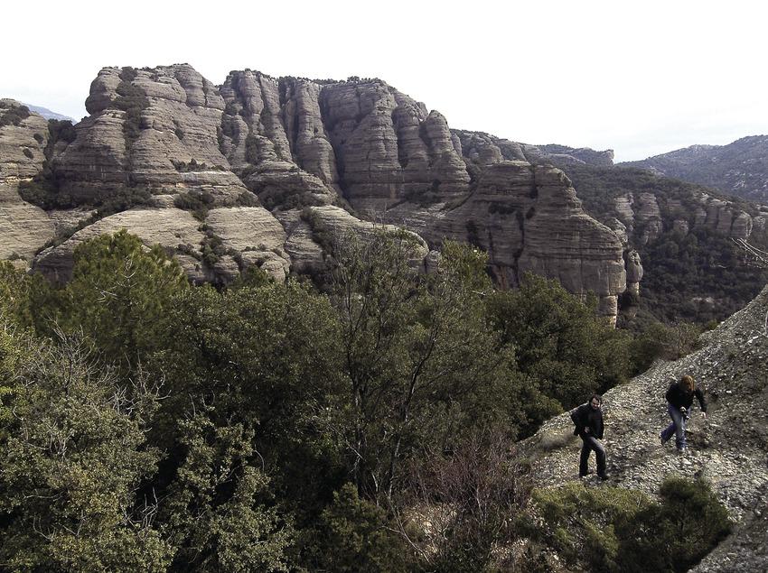 Roca del Corb and Mola de Sant Honorat  (Chopo (Javier García-Diez))