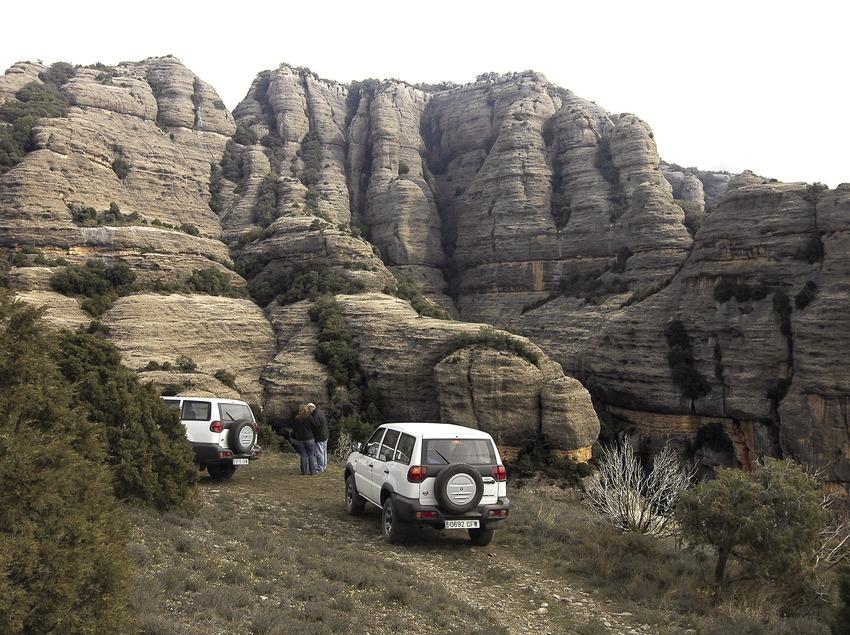 4x4 trip to Mola de Sant Honorat, Roca del Corb  (Chopo (Javier García-Diez))