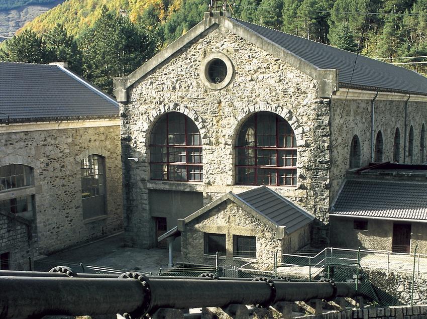 Central hidroelèctrica de Cabdella.