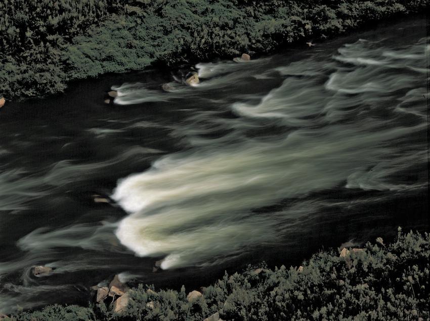 El riu Ter prop de la localitat.  (Kim Castells)