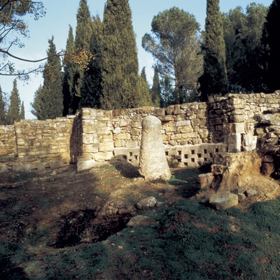 Muralles del poblat ibèric d'Ullastret   (CPT França)