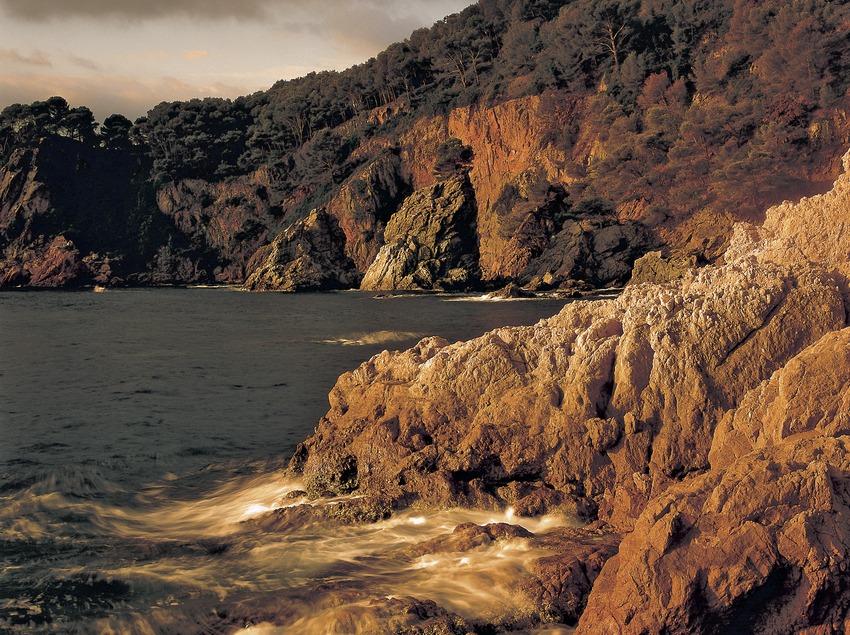 Die Bucht von El Golfet.