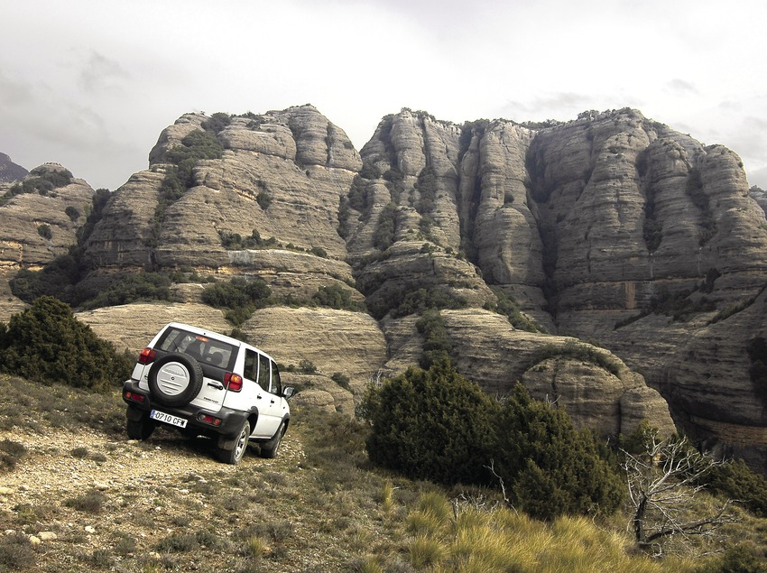 4x4 trip around Roca del Corb  (Chopo (Javier García-Diez))