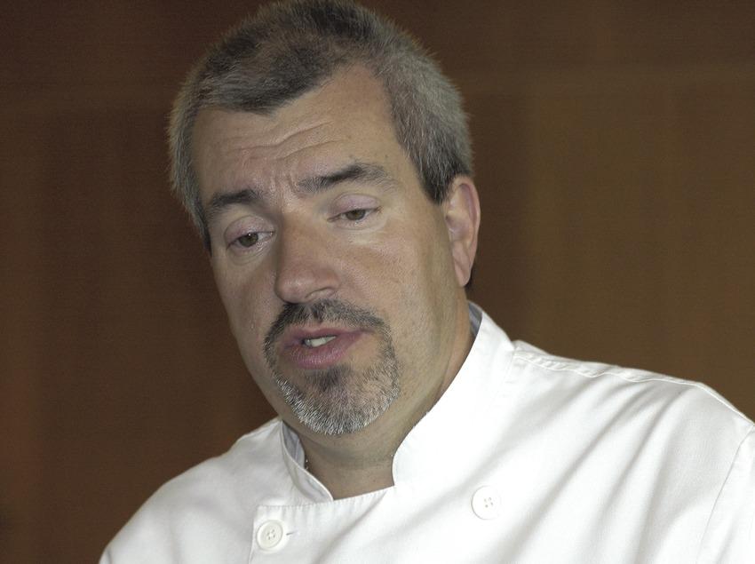 Chef Salvador Alari.  (Chopo (Javier García-Diez))