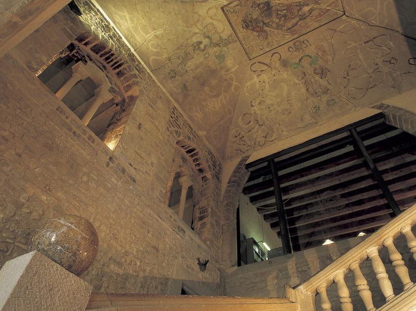 Interior del castell de Santa Coloma de Queralt.  (Kim Castells)