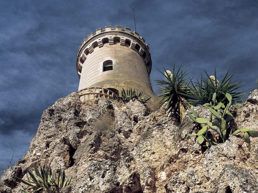 Romantic tower in Samà Park  (Kim Castells)