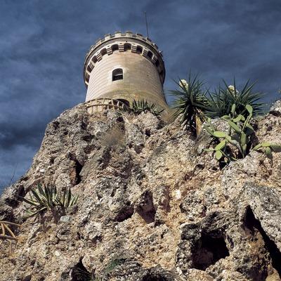 Torre romàntica al Parc Samà.  (Kim Castells)