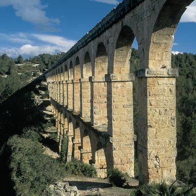 Aqueduc des Ferreres ou pont du Diable, Tarragone.