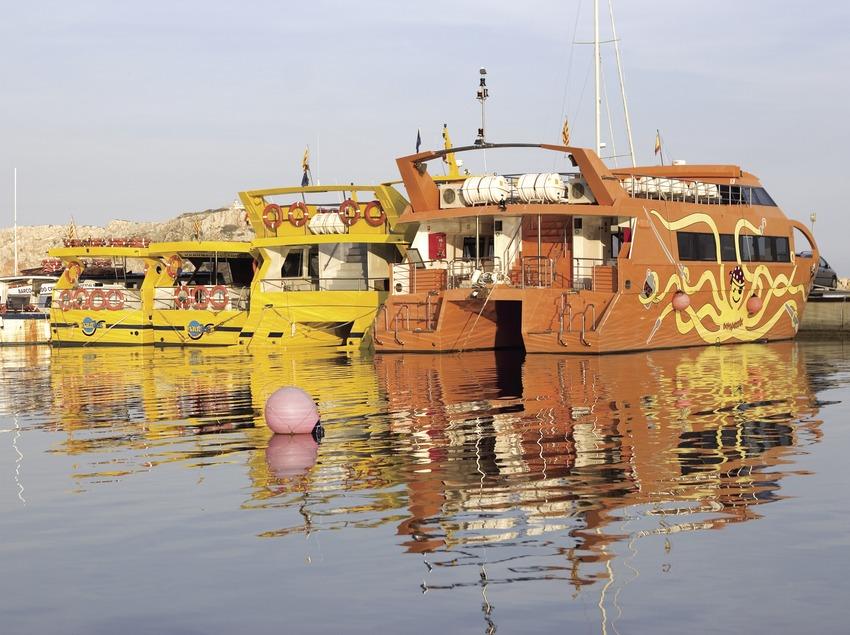 Embarcaciones en el puerto.  (Miguel Angel Alvarez)