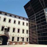 Pati del Centre de Cultura Contemporània de Barcelona (CCCB).   (CPT França)