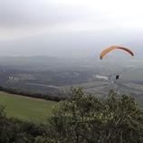 Vuelo en parapente en el Valle de Àger, sierra del Montsec.  (Chopo (Javier García-Diez))