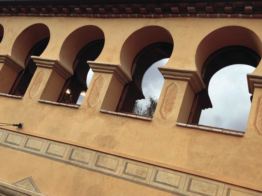 Exterior de la Casa rural La Icona del Pont Vell.  (Tina Bagué)