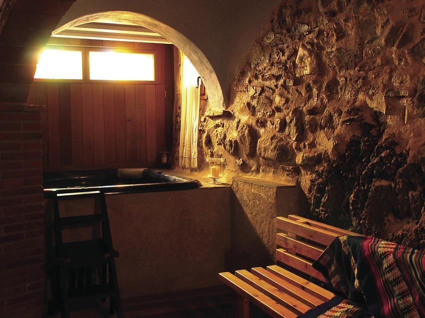 Spa a la Casa rural La Icona del Pont Vell.  (Tina Bagué)