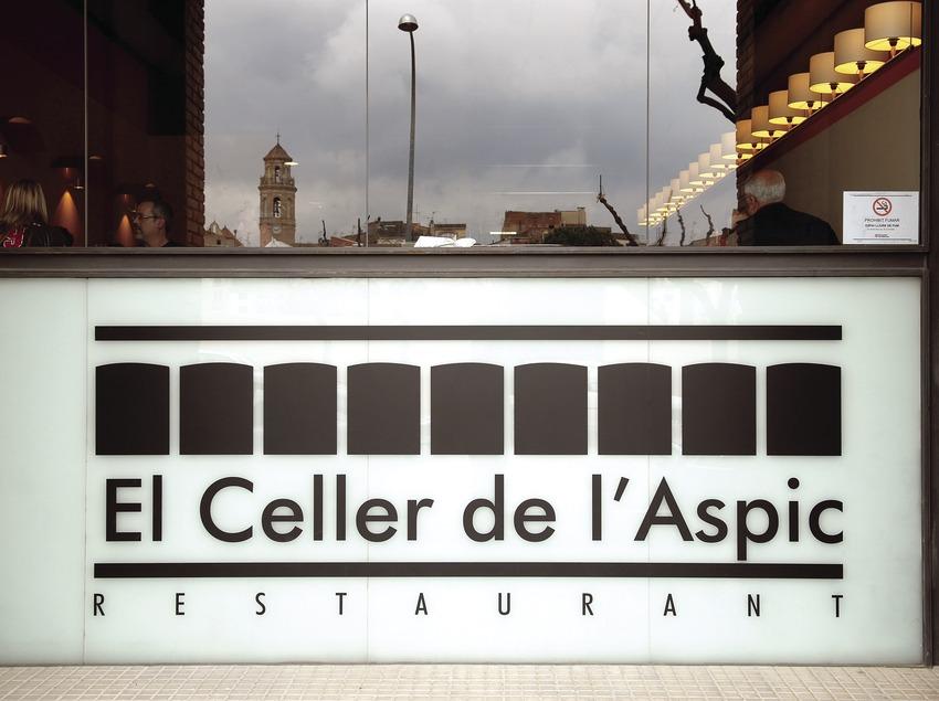 Restaurant El Celler de l'Aspic.  (Tina Bagué)