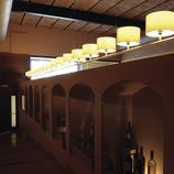 Intérieur du restaurant El Celler de l'Aspic, Falset  (Tina Bagué)