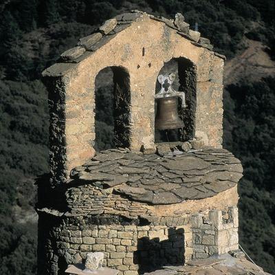 Round tower of the church of Sant Sadurní de Gavarra